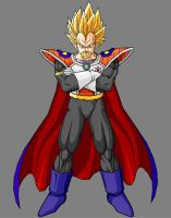 King Vegeta SSJ by theothersmen