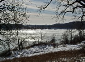Winter Lake I by Baq-Stock