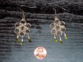 Maille earrings by SparklersOasis