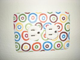 Receptacle with Designs by Angelpedia