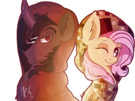 Something About Ponies and Hoodies by Evehly