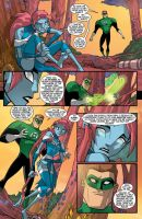 Green Lantern TAS 8 Page 6 by LucianoVecchio