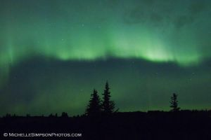 Aurora Borealis: 10-12-12 2 by MSimpsonPhotos