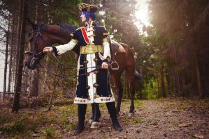 Radu and horse by ErikDesler