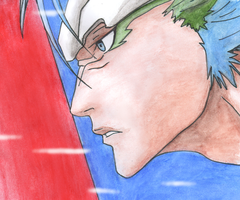 Grimmjow Jeagerjaques by xelina22