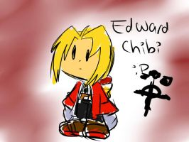 poorly drawn ed elric chibi by fansonic