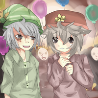 llamas with hats - request by touhou123