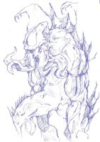 Cthulhu sketch by Namh
