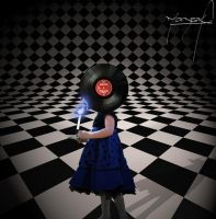 Record Girl by Mazrak18