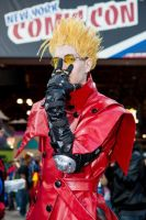 New York Comic Con 2013 - Vash the Stampede 3.0 by NewYorkVash