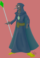Bird Mage by Mew-tew