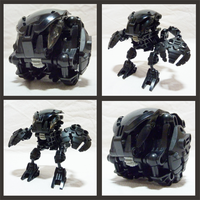 Bionicle MOC - Shadow Bohrok by Alex-Darkrai
