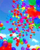 Ballons on Sky by MilicaT