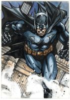Batman sketchcard by Csyeung
