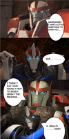 Transformers Prime Beast Hunters: Predaking vs who by starscream0666