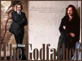 Gary Oldman the Godfather by hooyi
