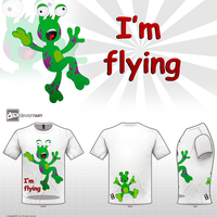 I'm flying - crazy monster by neexel