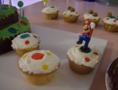 Mario Party Cake--5 by KittyCowLexa