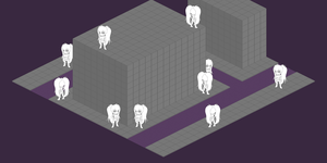 Tactical Grid Isometric Test 01 (Edit: MORE NYMS!) by Fatelogic