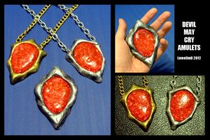 Devil May Cry Original / Half Amulets by Lomelindi88