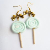 mint lollipops by lemon-lovely