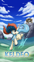 Pokemon 20th Anniversary- Keldeo