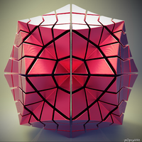 Spiderman's rubik's cube by p0pSyK4t