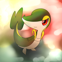 One More Snivy by PrincePiePlant