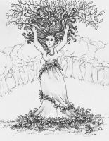 Forest Maiden by ValerieJoyLauria