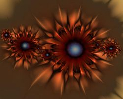 Copper Star by janinesmith54
