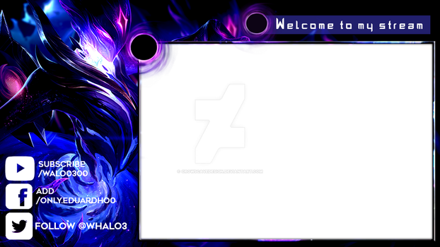 Overlay whalo by CrowsCaveDesign