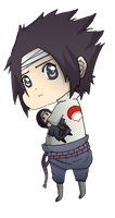 Chibi Sasuke by FlyingDragon04