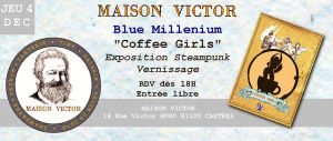 Coffee Girls Exposition... by BlueMillenium