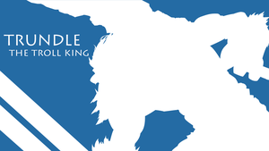 Trundle Silhouette - Light Blue - White -1980x1080 by urban287
