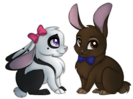 Bunnies by SilentWulv