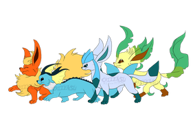 Day 19 Fav Eeveelution by Cattensu