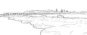 Port Noarlunga - Ink by francepantsdance