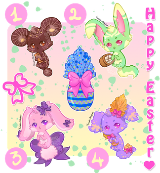 [OPEN - 2/4]-[550pts] Special Happy Easter :3 by Yoshimiko-Adopts