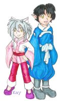 Inuyasha offspring by StegeKay