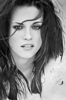 Kristen Stewart drawing by Coniglio89