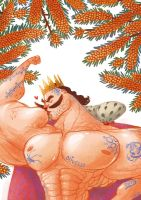 Rodrigo, king of  sea buckthorn by Bard-the-zombie