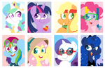 Summer Ponies by Coggler