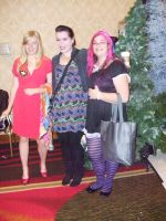 Monica Rial with Panty and Stocking by PaladinCecil