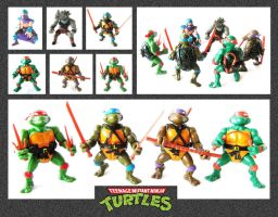 TMNT - Toys by mikedaws
