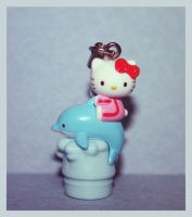 Hello Kitty Dolphin Strap by bhere