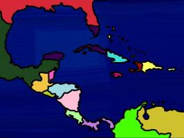 SJ!- Superjail Empire Map As of 2101 by VoltaliatheMajestic