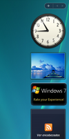 Windows 7 M1 Gadgets by vistaaero