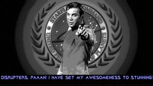William Shatner Awesomeness To Stunning by Dave-Daring