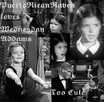 Wensday Addams TOO CUTE by PuertoRicanRaven