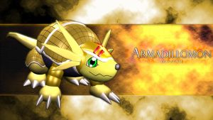 Armadillomon 3d by me by EAA123